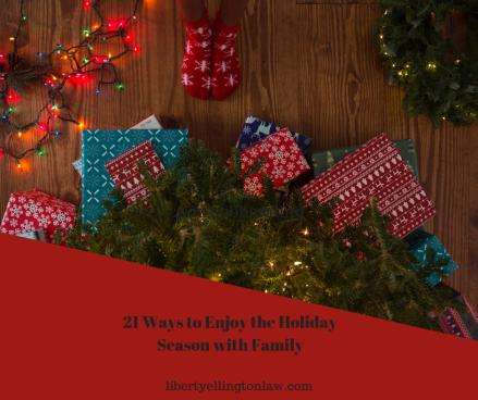 21 ways to celebrate