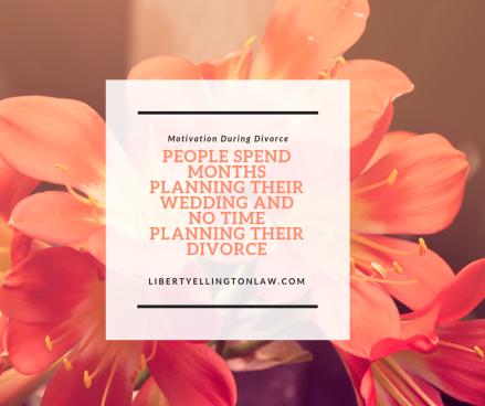 motivation during divorce